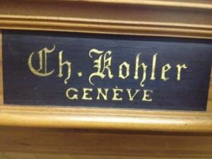 Billard Français Ch. Kohler Genève