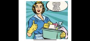 Femme active cherche heure de ménage