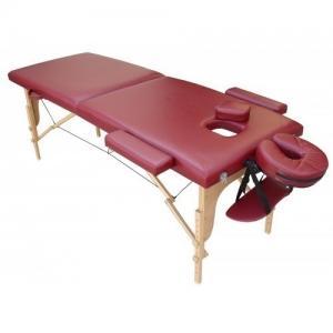 Table massage pliable en bois
