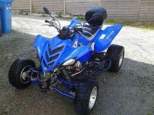 moto quad yamaha 700 raptor