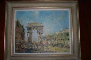 Une porte de Paris