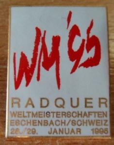 Pin´s Radquer WM 95