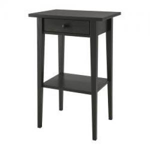 Table de chevet Hemnes noire