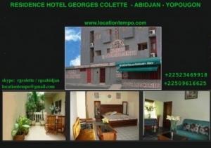 Location de Studio de vacance à Abidjan