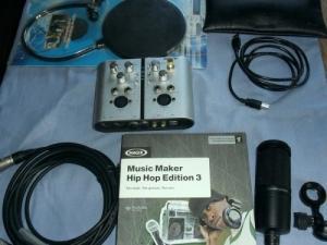 materiel audio  micro  et logiciel
