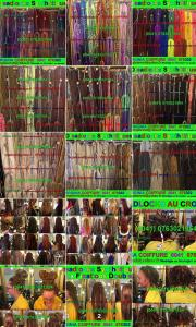 Dreads synthétiques toutes les couleurs