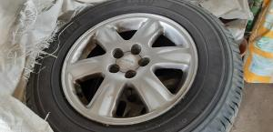 4 roues completes 205-70x15 SUBARU FORESTER