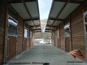 Außenboxen für Pferde, Pferdeställe, Pferdeboxen