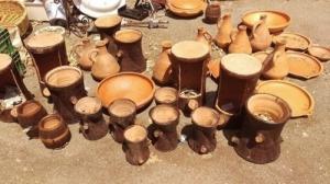 Gros lot de poterie marocaine