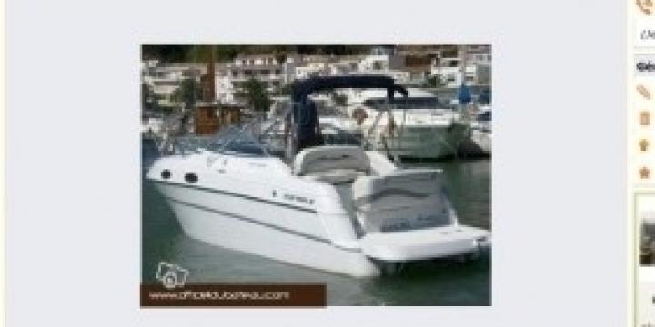 Location bateau moteur - tout confort