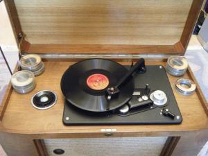 LORENZ Radio Pick-up et enregistreur fil recordophone
