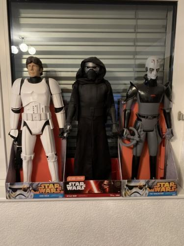3 Figurines Star Wars