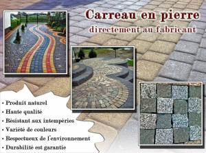 Carreau de pierre
