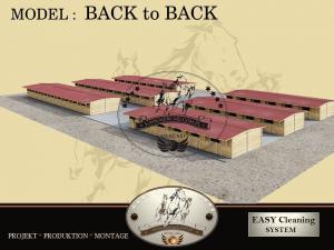 Écuries, Boxes chevaux, Boxes extérieurs
