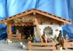 Crèche de Noël d