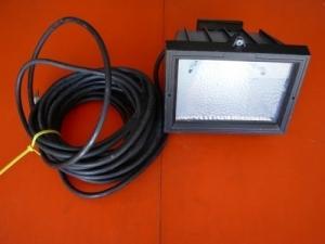 2 projecteurs sur support métal 150-500W