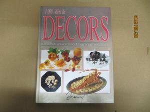 Livre 1000 idées Décors Techniques et réalisations