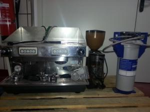 Machine à café avec moulin