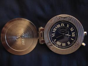 Pendulette de voyage Cartier