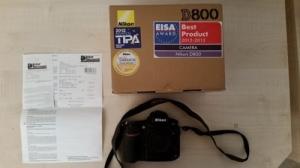 Nikon D800 Gehäuse und Zubehör