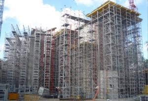Tour d'étaiement Alu d'occasion, hauteur 30m - Echafaudage
