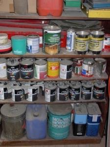 A vendre lot de peinture