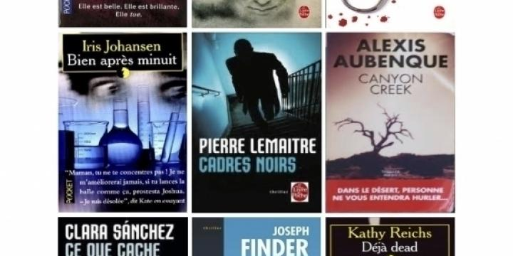 Romans,policiers,thrillers