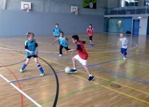 Genève InterSoccer cours d'hiver de foot