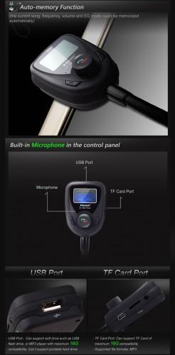 Car KIT MP3/ Bluetooth  www.memoshop.ch