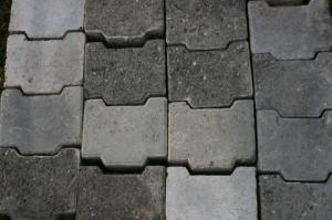 Pavés en beton 60m2