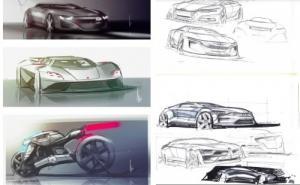 Lecon de dessin automobile/personnage