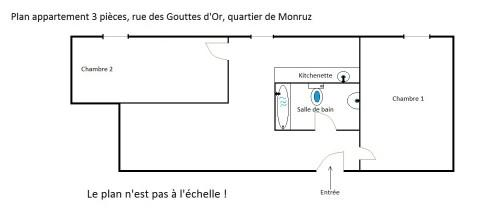 Neuchâtel (Monruz): 3 pièces à louer