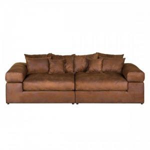Grand canapé avec 8 coussins