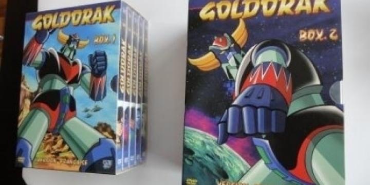 Goldorak Intégrale Coffrets 1 et 2