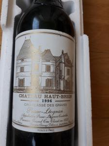 vin Chateau Haut-Brion, 1996