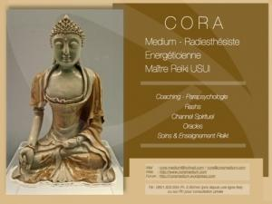 Cora - Médium- Radiesthesiste - Me Reiki