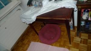 Ancien table en bois