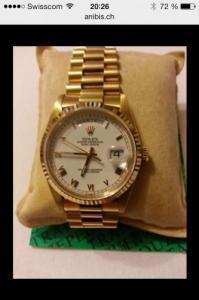 Achète à haut prix toutes montres