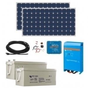 Kit solaire autonome pour cabanon ou w-e