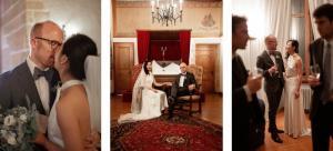 Photographe de mariage professionnel.