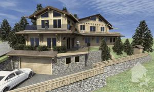 Luxueux chalet 7.5 pces ski-in ski-out, 330 m2