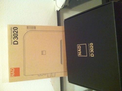 NAD D 3020 amplificateur stéréo NEUF