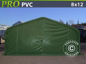 Lagerzelt PRO 8x12x4,4m PVC, Grün
