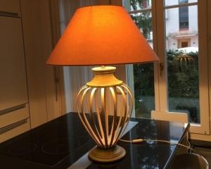 Lampe métalique 80 cm