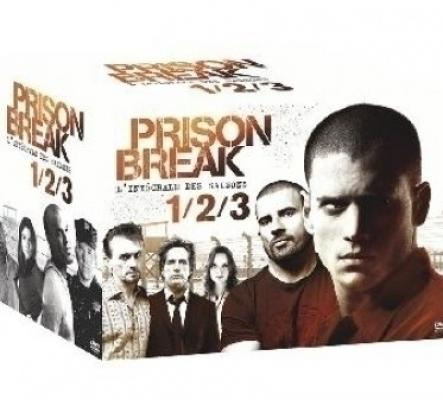 Coffret Prison Break Saisons 1 à 3