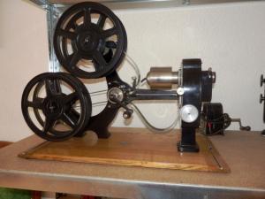 Projecteurs de cinéma 35 mm, env. 1920