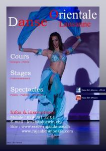 Cours danse orientale à Lausanne