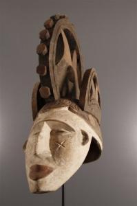 Masque Igbo roue original