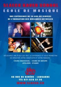 Cours de chant Lausanne cours de piano
