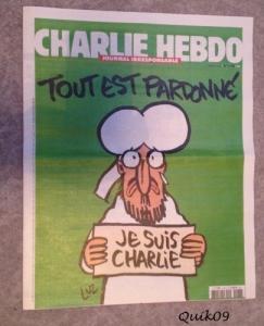 Charlie Hebdo en papier Nr 1178 du 15.1
